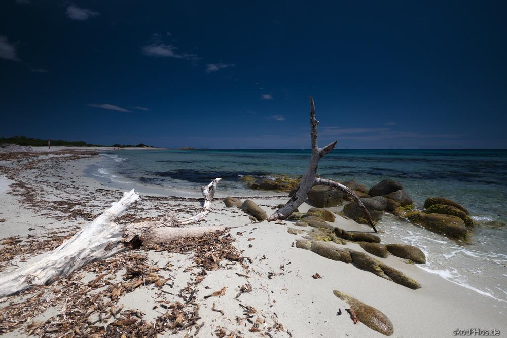 Am nördlichen Spiaggia Berchidda